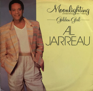 "Al Jarreau - Moonlighting (12"") (G+/G+)"